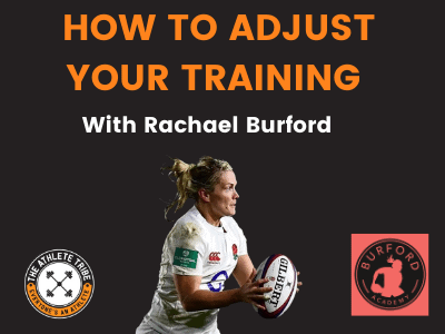 How to Adjust Your Training